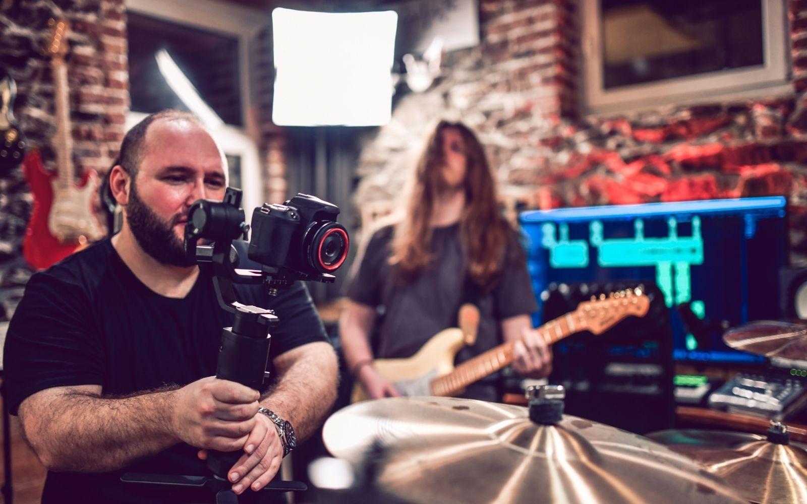 marketing musicisti video